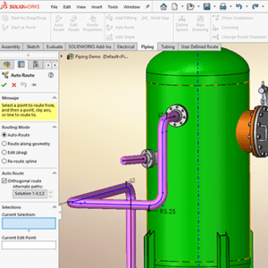 SOLIDWORKS Routing: Piping and Tubing